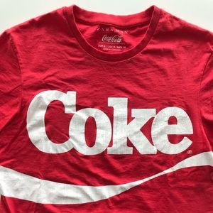 Zara X Cocacola collaboration T-shirt